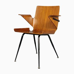 Desk Chair by Silvio Cavatorta, 1950s