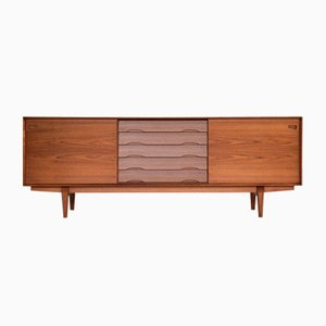 Mid-Century Danish Sideboard in Teak by Rosengren Hansen for Skovby Møbelfabrik