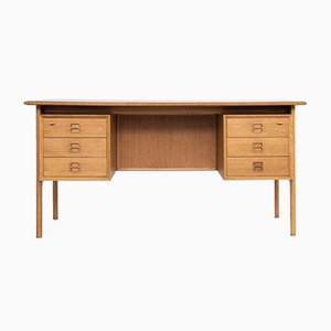 Mid-Century Danish Desk in Oak by Arne Vodder for Sibast, 1960s