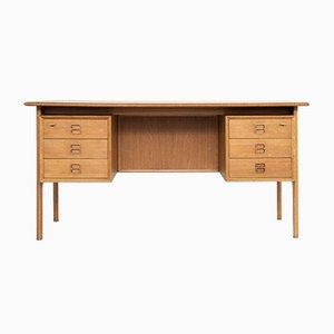 Mid-Century Danish Desk in Oak by Arne Vodder for Sibast, 1960s