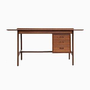 Mid-Century Danish Desk in Teak by Arne Vodder for Vamo Sønderborg, 1960s