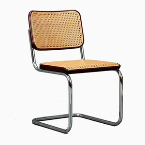 Brown S 32 Cantilever Chair by Marcel Breuer for Thonet, 1970s