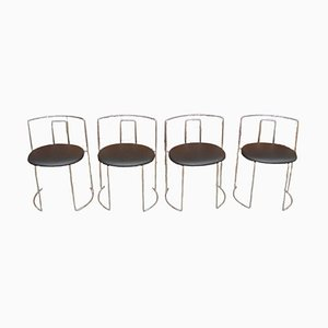 Italian Chairs, 1970s, Set of 4
