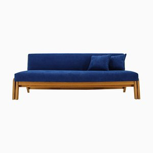 Convertible 3-Seat Sofa, Czechoslovakia, 1960s