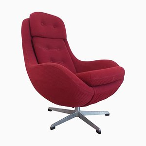 Mid-Century Swivel Lounge Armchair, 1970s