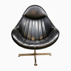 Vintage Dutch Swivel Chair by Rudolf Wolf for Rohe Noordwolde, 1970s