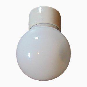 Vintage Industrial Porcelain Loft Ceiling Lamp