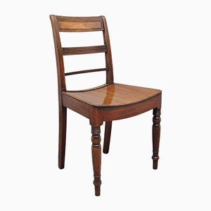 19th Century Mahogany Side Chairs, Set of 4