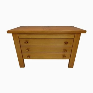 Vintage Solid Elm Chest of Drawers from Maison Regain