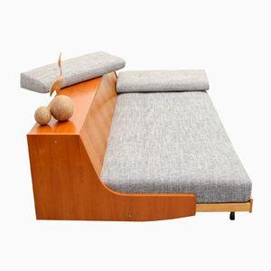 Vintage German Teak Sleeper Sofa