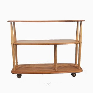 Bookcase Trolley by Lucian Ercolani for Ercol, 1960s