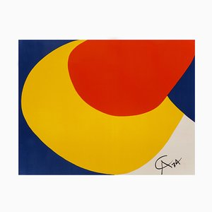 Lithographie Print Convection Limited Edition par Alexander Calder, 1974