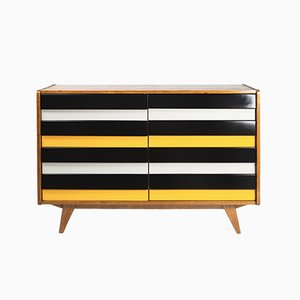 Mid-Century Model U-453 Chest of Drawers by Jiří Jiroutek for Interier Praha