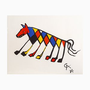 Beastie Limited Edition Print Lithograph by Alexander Calder, 1974