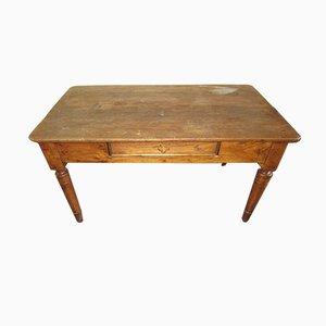 Antiker Ulmenholz Esstisch