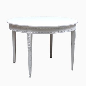 Antique Gustavian Dining Table, 1900s