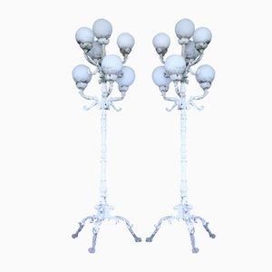 Lámparas de jardín Mid-Century. Juego de 2