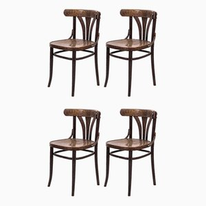 Vintage Coffee Chairs, Set of 4