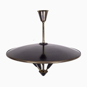 Ceiling Lamp in the Style of Stilnovo, 1950s