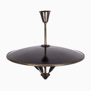 Deckenlampe im Stilevon Stilnovo, 1950er