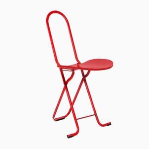 Dafne Folding Chair by Gastone Rinaldi for Thema, 1970s