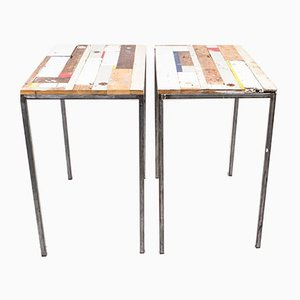 Worktables by Philip Lorenz, 1999, Set of 2