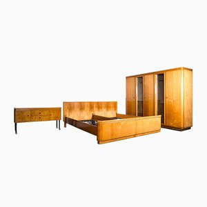 Bauhaus Bedroom Set in the Style of Bruno Paul, 1930s