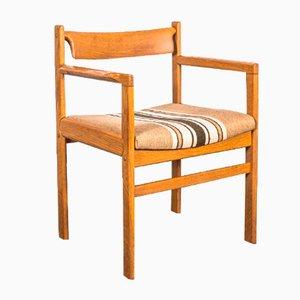 Vintage Eichenholz 20000 Esszimmerstuhl im Stil von Bramin