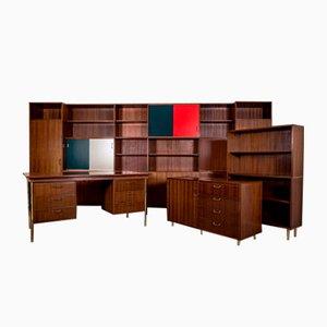 Wohnzimmer Set im Stil von Cees Braakman für BMZ, 1930er