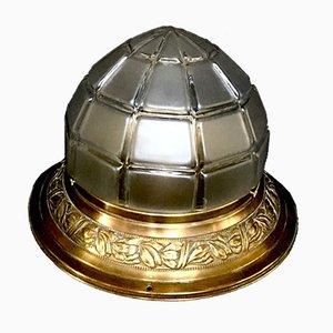 Vintage Art Nouveau Ceiling Lamp