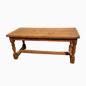 Antique Pinewood Dining Table