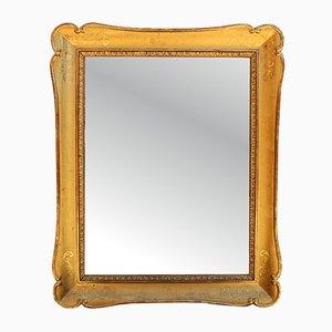 Antiker goldener Louis Philippe Spiegel