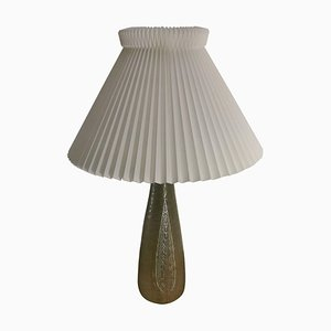 Celadon Glazed Stoneware Table Lamp by Gerd Bogelund for Royal Copenhagen, 1960s