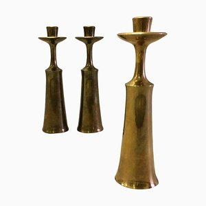 Danish Candleholders or Vases by Jens H. Quistgaard, 1960s, Set of 3