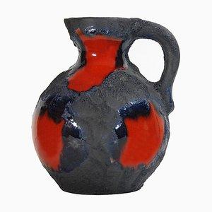 Vase Fat Lava Mid-Century de Roth, Allemagne, 1960s