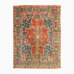 Vintage Middle Eastern Hand-Knotted Carpet