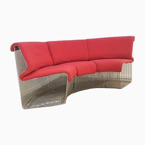 Vintage Pantonova Modular Sofa Set by Verner Panton for Fritz Hansen, 1970s