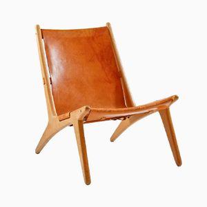Hunting Chair Mid-Century par Uno & Östen Christiansson pour Luxus