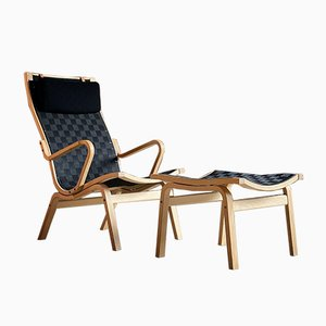 Mid-Century Danish Model 4100 Armchairs by Finn Østergaard for Skipper, 1970s, Set of 2