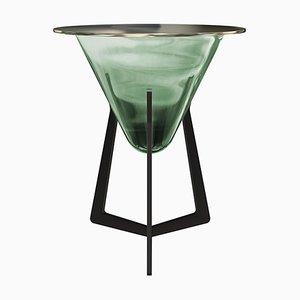 Table d'Appoint Vert Émeraude par Stefan Seidel