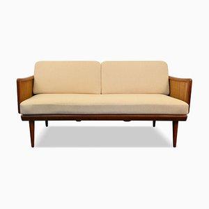 Vintage Teak FD451 2-Seat Sofa by Peter Hvidt & Orla Mølgaard-Nielsen for France & Søn / France & Daverkosen