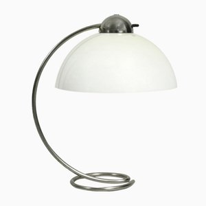 Large Mid-Century German Metal and Plastic Table Lamp from Schanzenbach & Co., 1950s