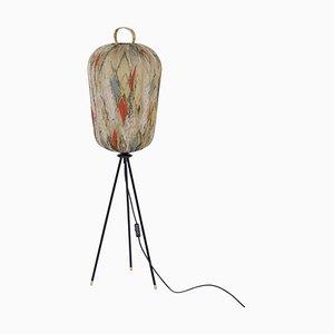 Vintage Tripod Floor Lamp, 1950s