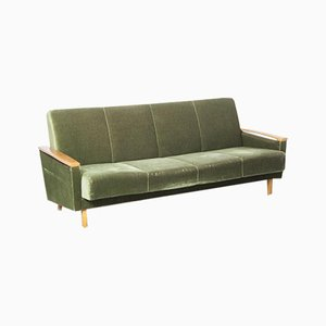 Green Sofa Bed, 1950s