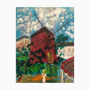 Le Moulin de la Galette par Jean Wallis, 2002