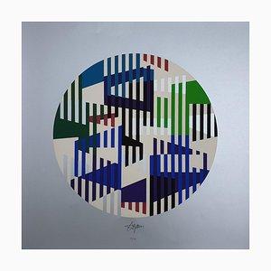 Silber ohne Titel von Yaacov Agam, 1979