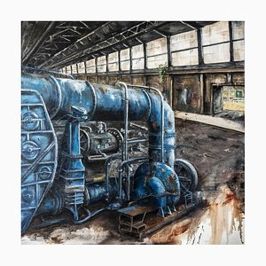 The Blue Machine by Jean-Pierre Brissart, 2014
