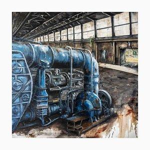 The Blue Machine par Jean-Pierre Brissart, 2014