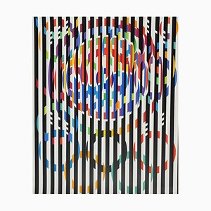 Message of Peace by Yaacov Agam, 1988