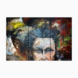 Mann Triptychon von Jean-Pierre Brissart, 2016